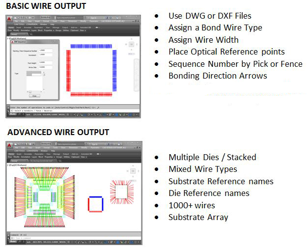 bond wire export to hesse mechatronics wire bonders bj820 bj935 and bj939 by cad design software